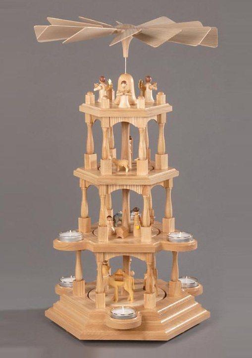 Pyramide, natur, »Christi Geburt«, Albin Preissler in natur