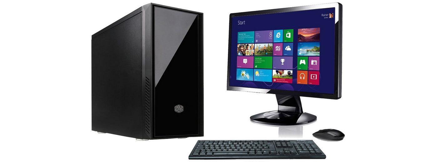 "VCM Silent PC-Set / Intel Core i5-6600 / »8 GB RAM / Windows 10 / 22"" TFT«"