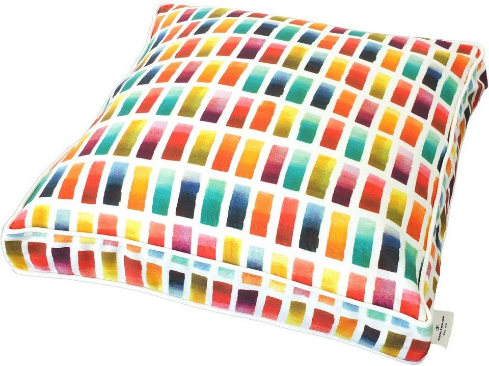 Sitzbezug, Tom Tailor, »Colourful Square« (1 Stück) in bunt