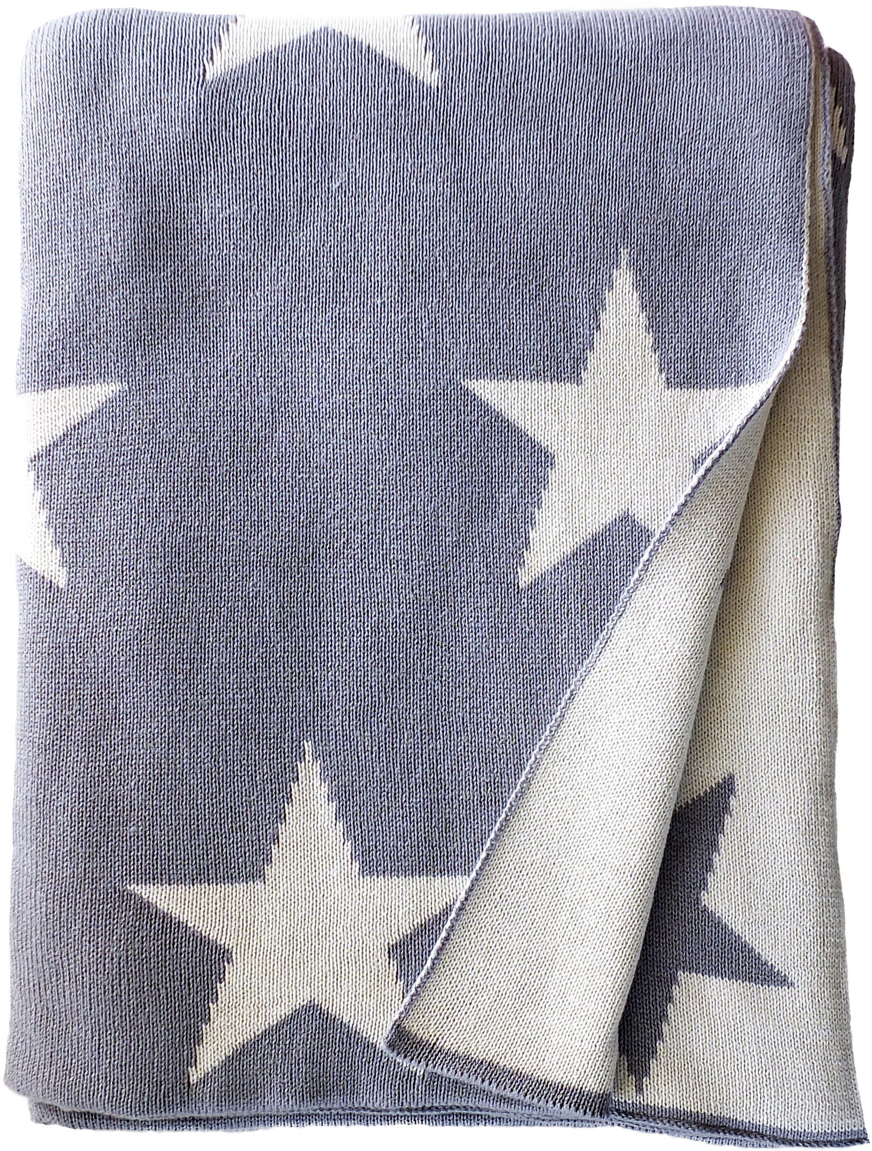 Wohndecke, Tom Tailor, »Big Star«, mit Sterne Motiven