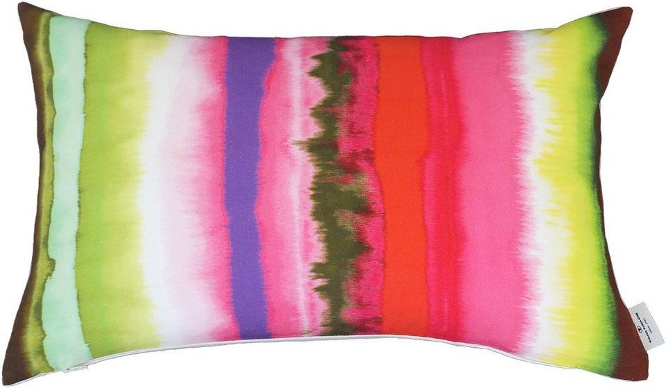Kissenhülle, Tom Tailor, »Rainbow« (1 Stück) in bunt