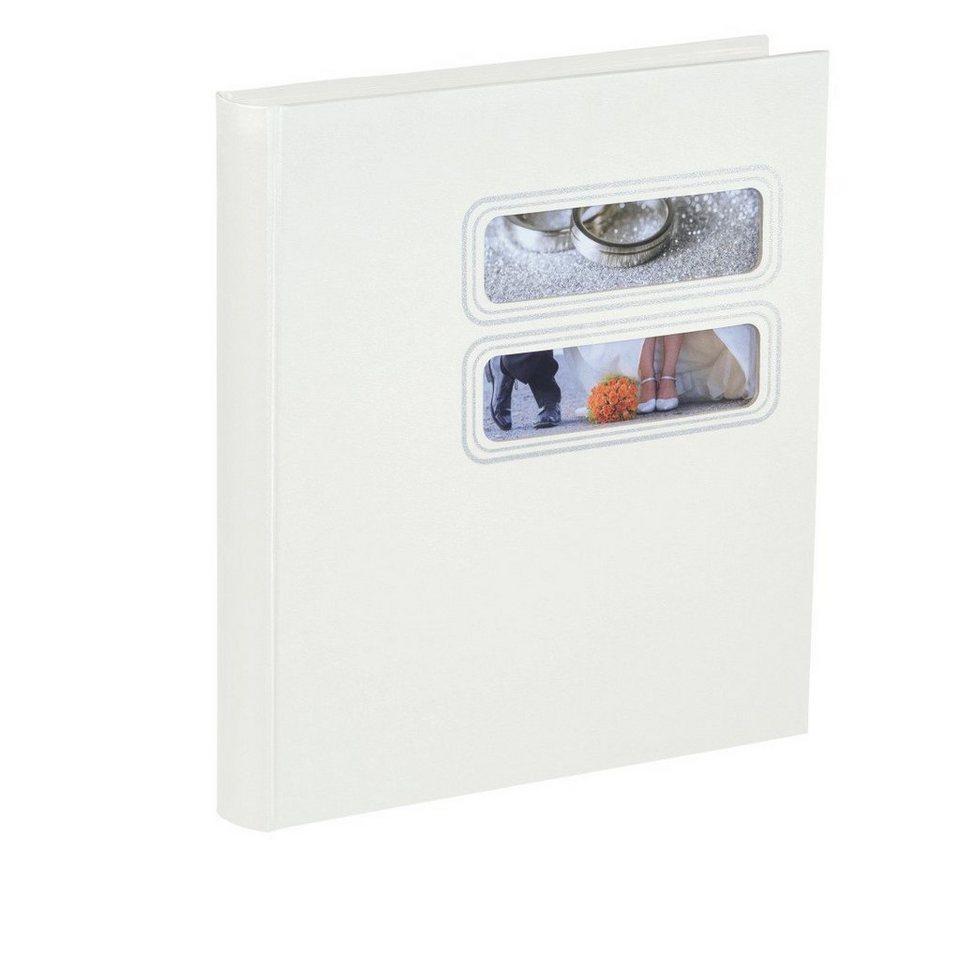 Hama Buch-Album Savona, 30x33 cm, 50 weiße Seiten in Weiss