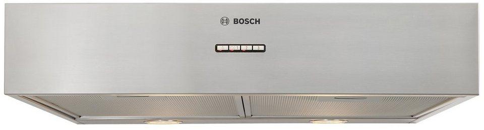 Bosch Unterbauhaube DHU665E in silberfarben