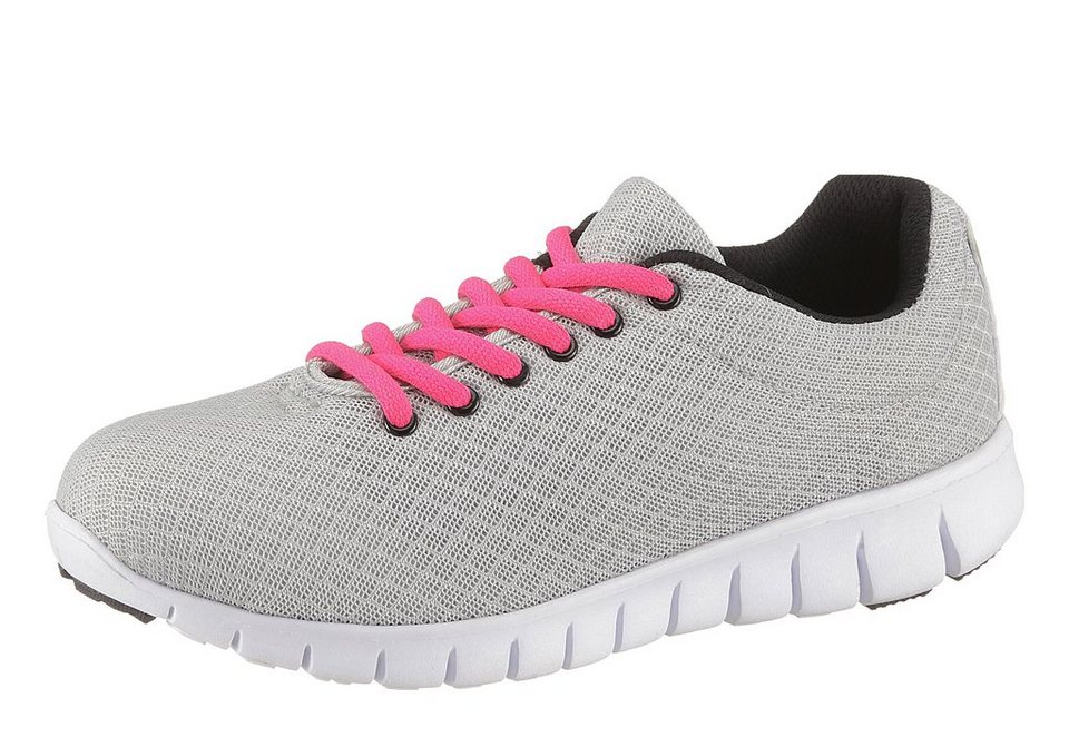 City Walk Sneaker in grau-pink