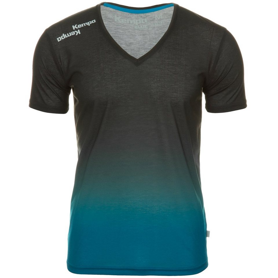 KEMPA Blue T-Shirt Herren in blau / anthrazit