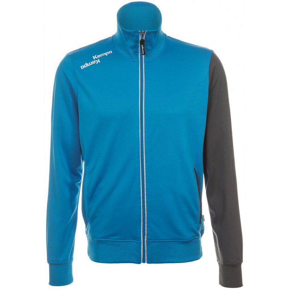 KEMPA Blue Track Top Kinder in blau / anthrazit