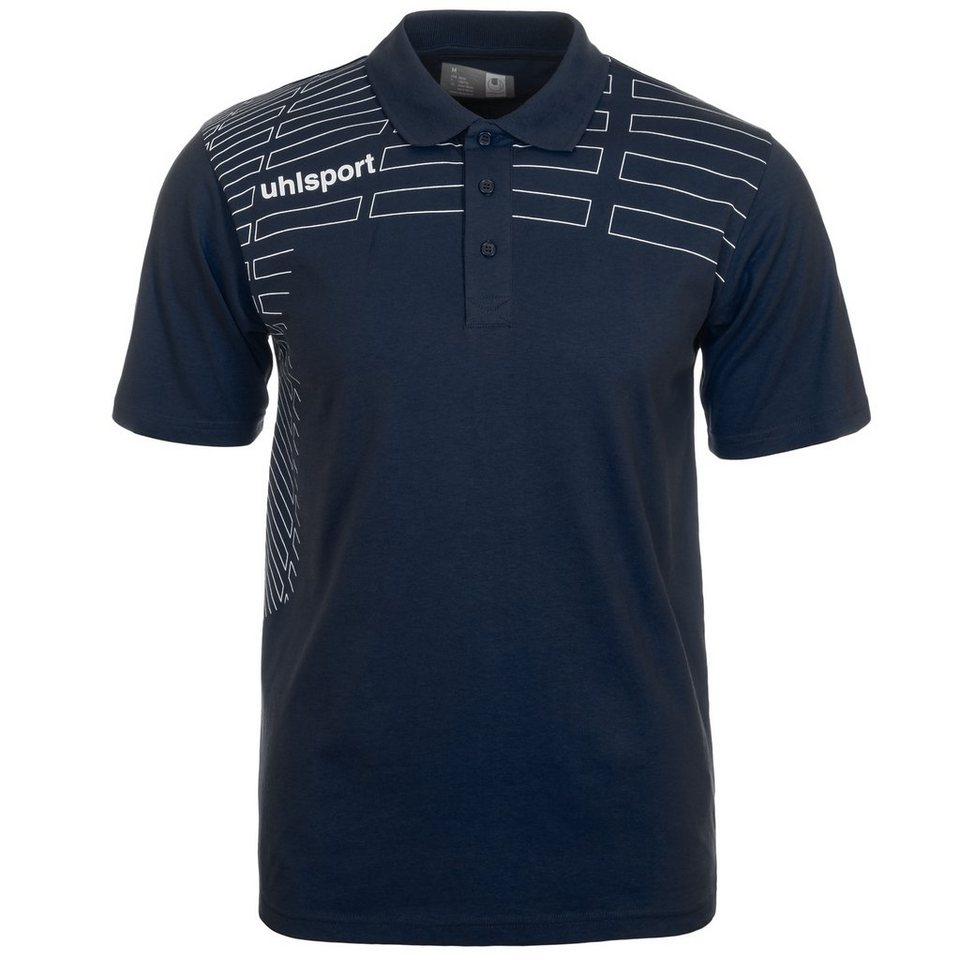 UHLSPORT Match Polo Shirt Herren in marine/weiß