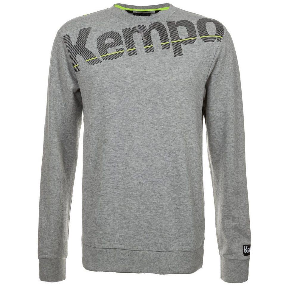 KEMPA Core Sweatshirt Herren in grau mélange