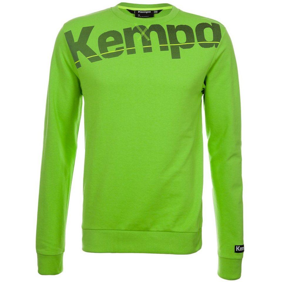 KEMPA Core Sweatshirt Herren in hope grün