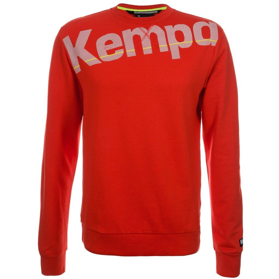 KEMPA Core Sweatshirt Herren in rot