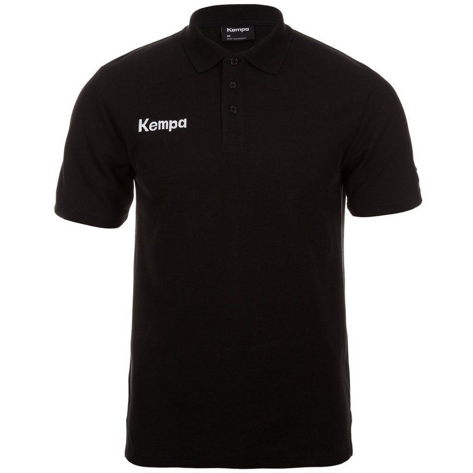 KEMPA Poloshirt Herren in schwarz