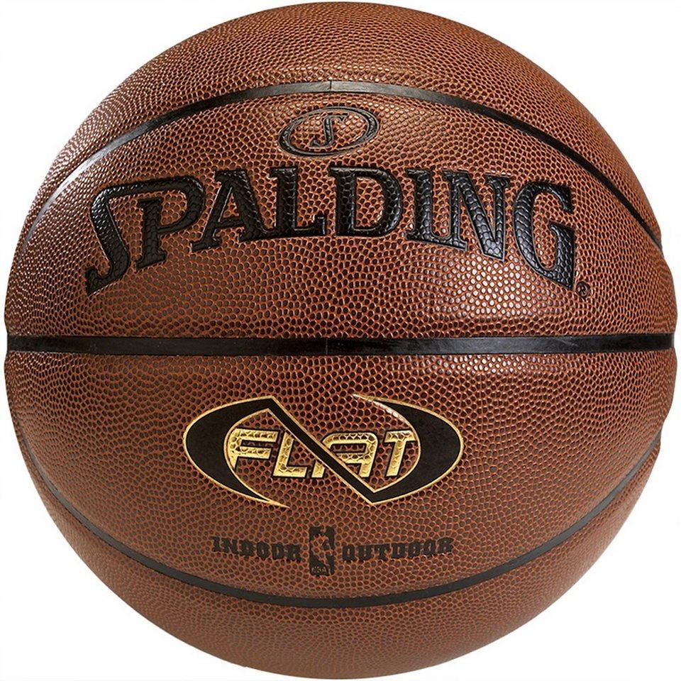 SPALDING Neverflat Basketball in braun