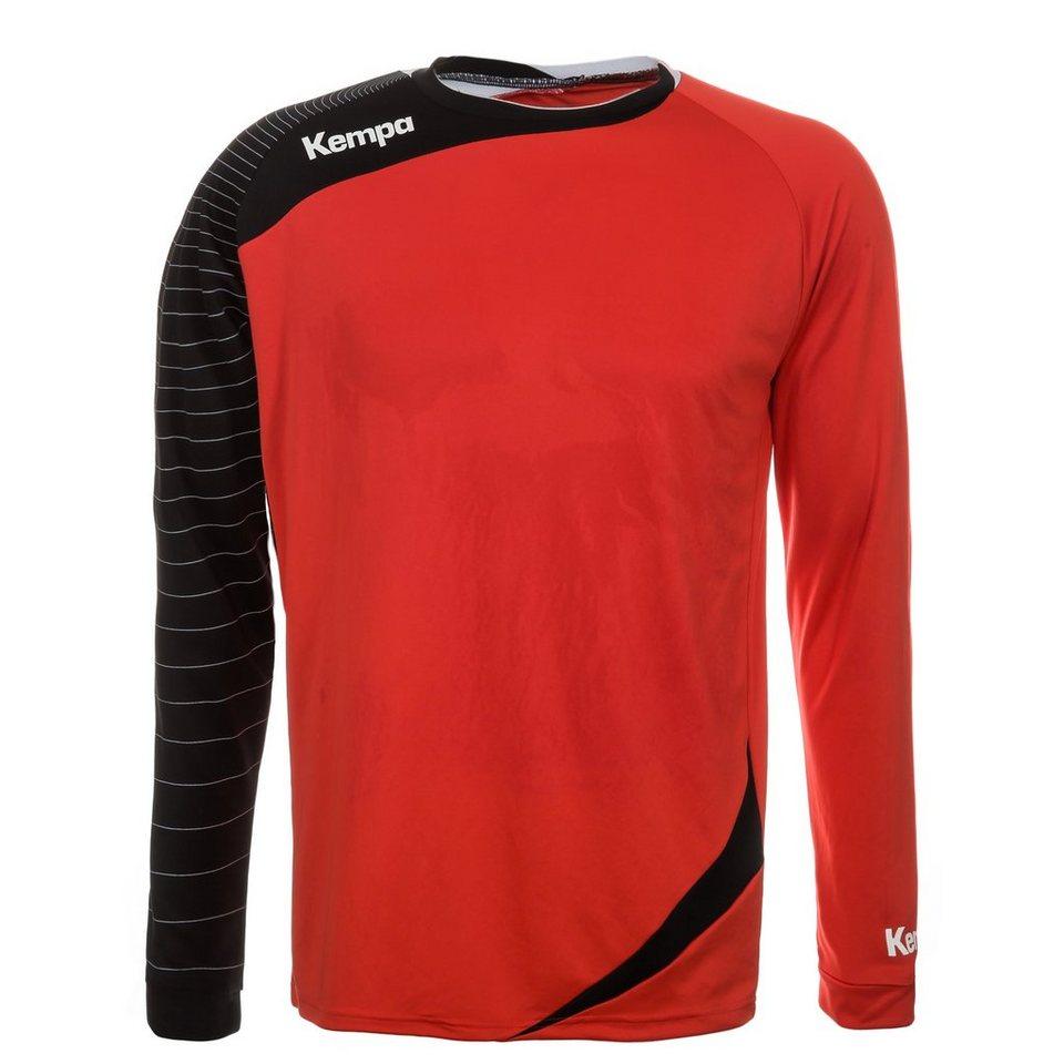 KEMPA Circle Langarm Shirt Herren in rot/schwarz
