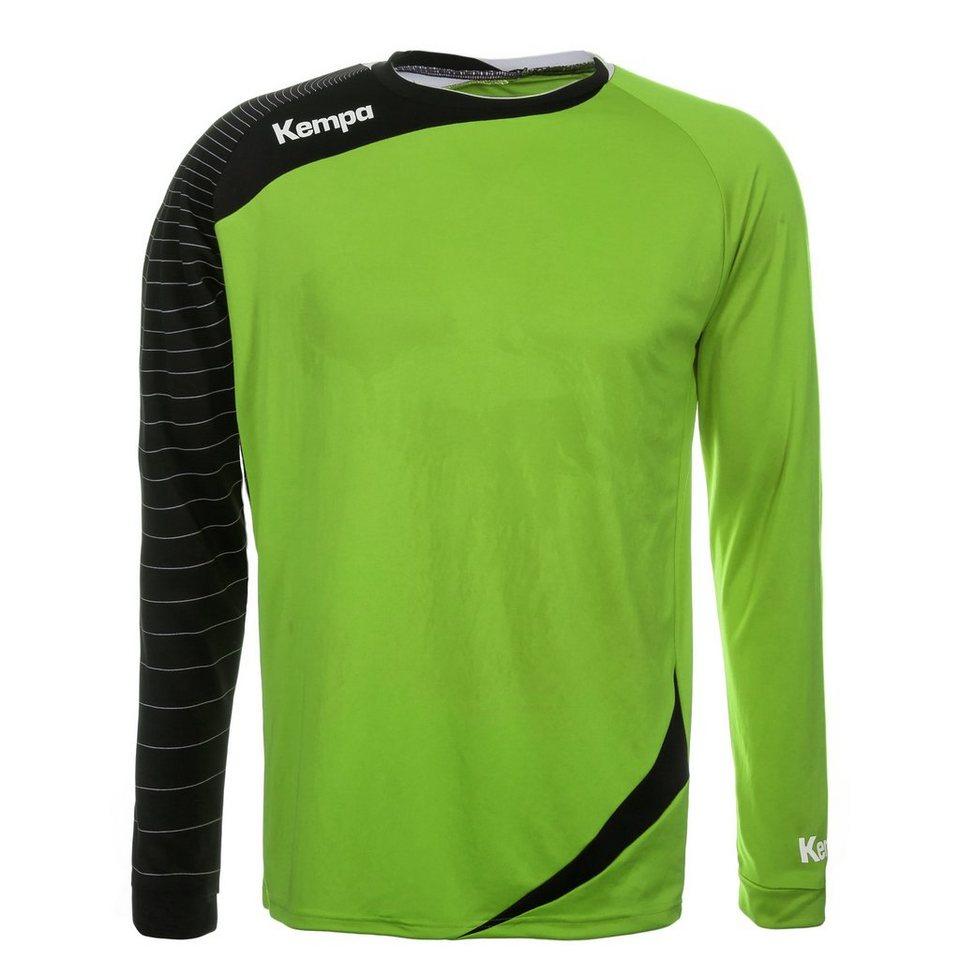 KEMPA Circle Langarm Shirt Herren in hope grün/schwarz