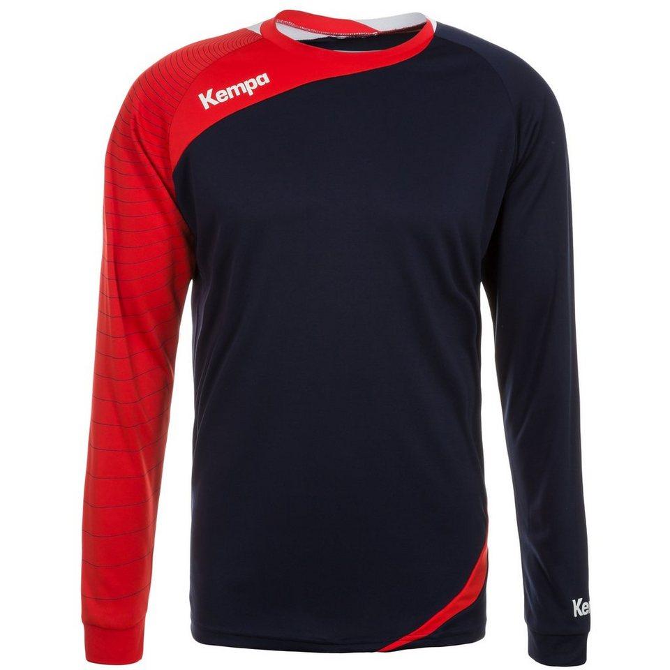 KEMPA Circle Langarm Shirt Herren in marine/rot