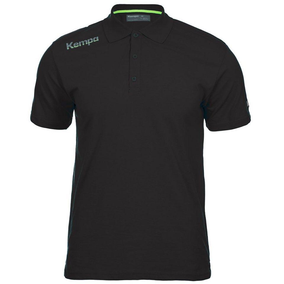 KEMPA Core Poloshirt Herren in schwarz