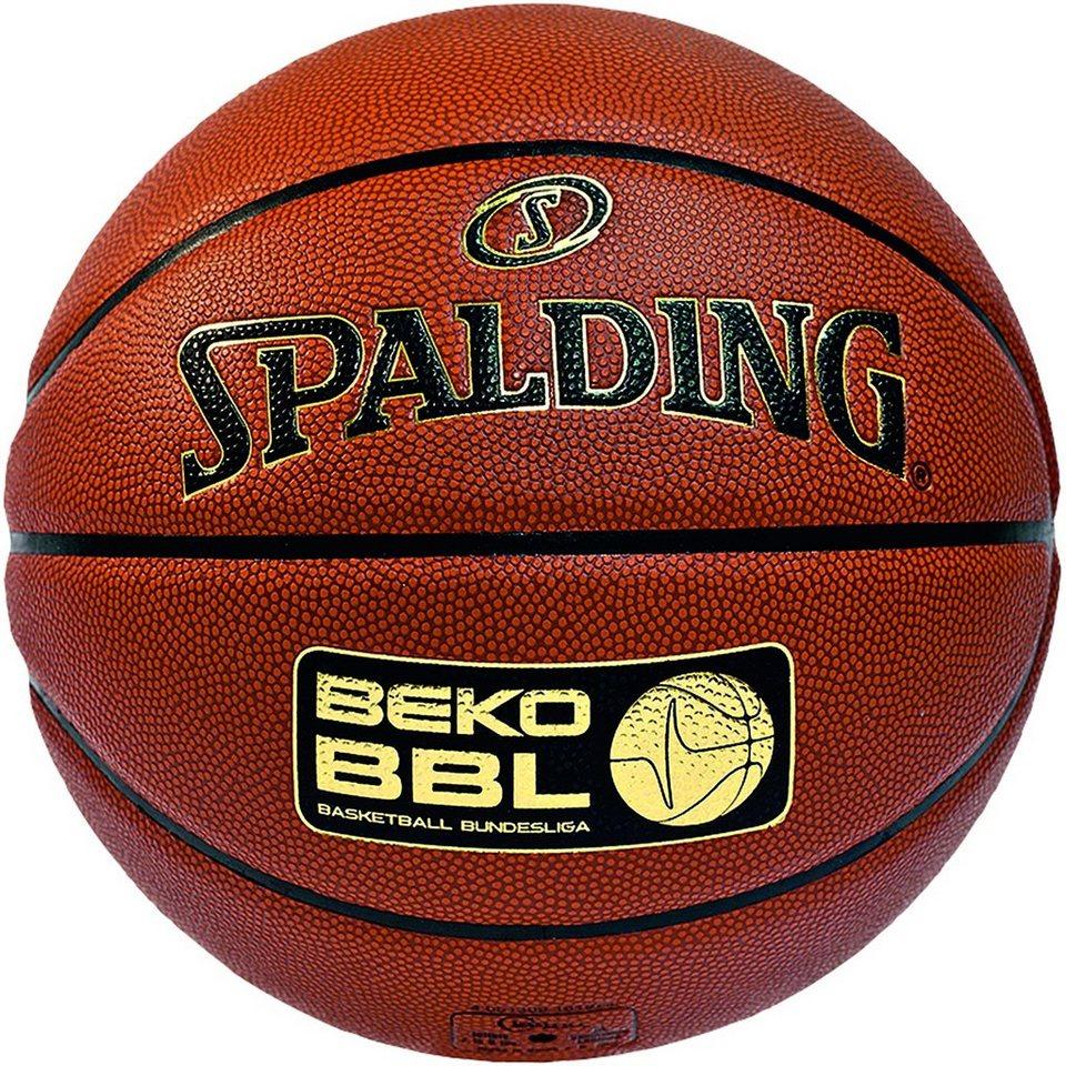 SPALDING BBL TF1000 Legacy FIBA Basketball in braun