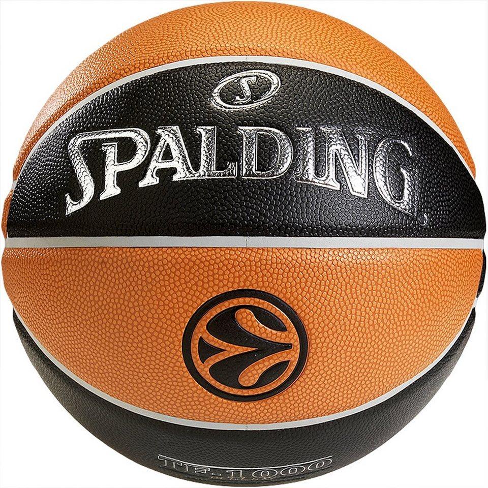 SPALDING Euroleague TF1000 Legacy Basketball in braun