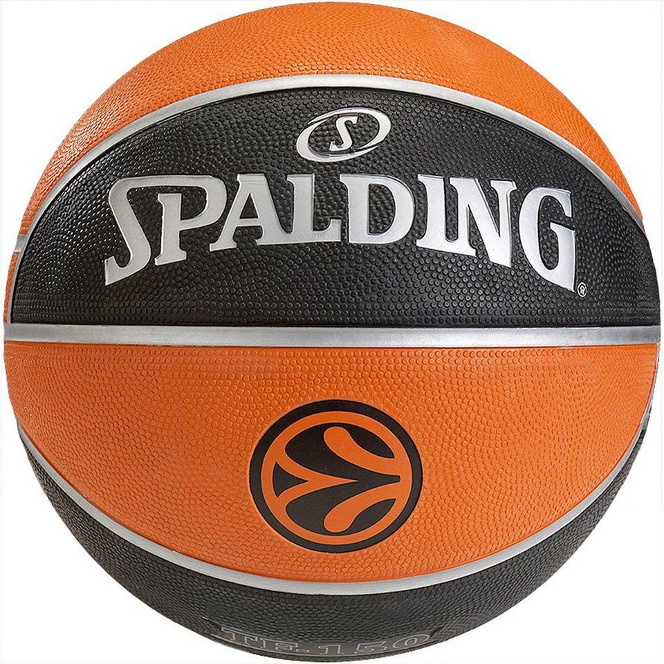 SPALDING Euroleague TF 150 Outdoor Basketball in braun