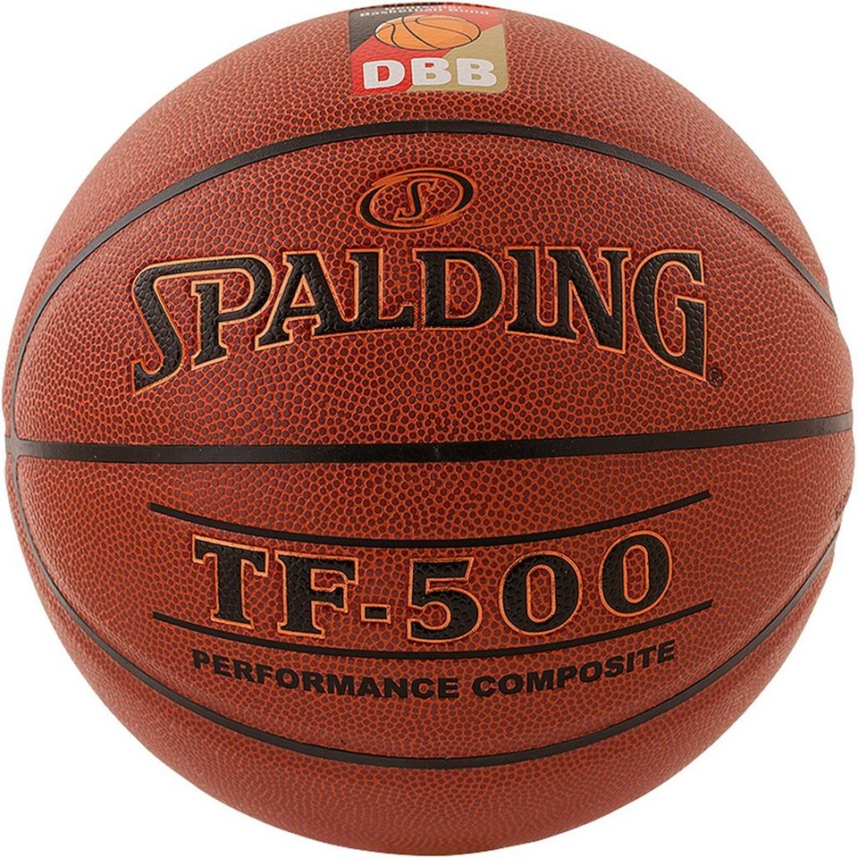 SPALDING TF500 DBB Indoor Basketball in braun