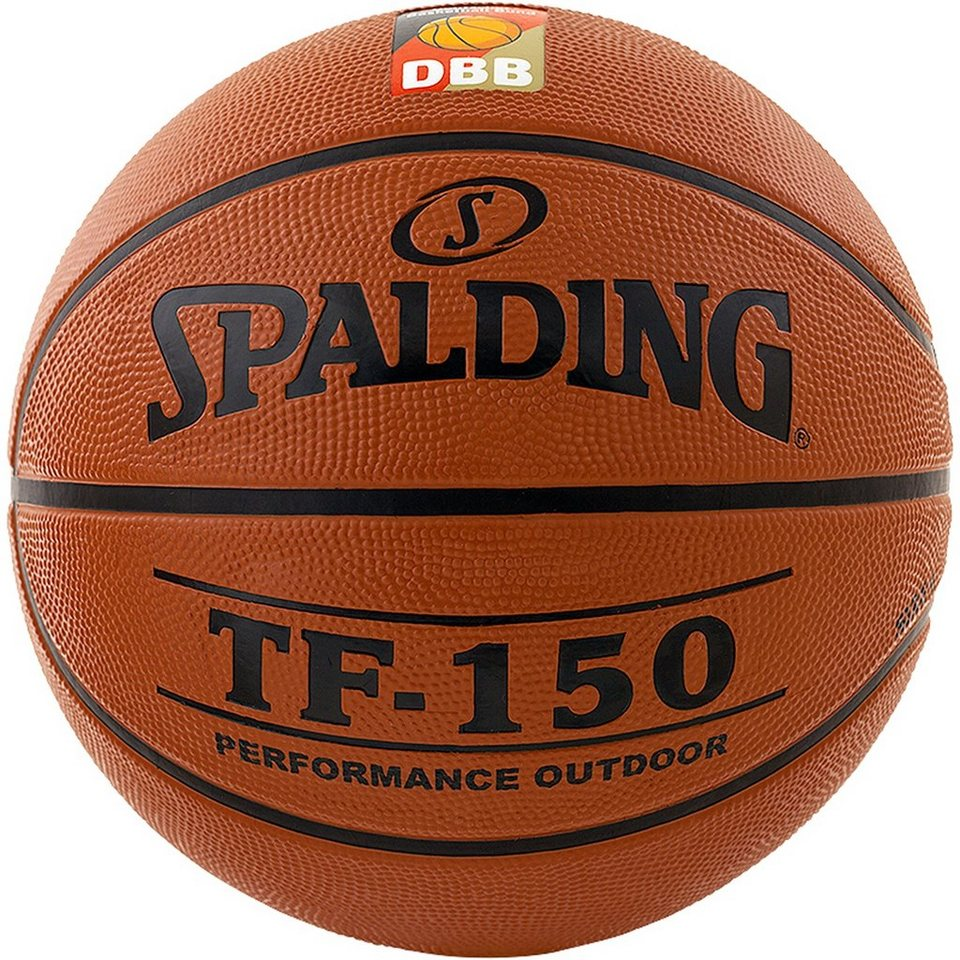 SPALDING TF150 DBB Outdoor Basketball in braun