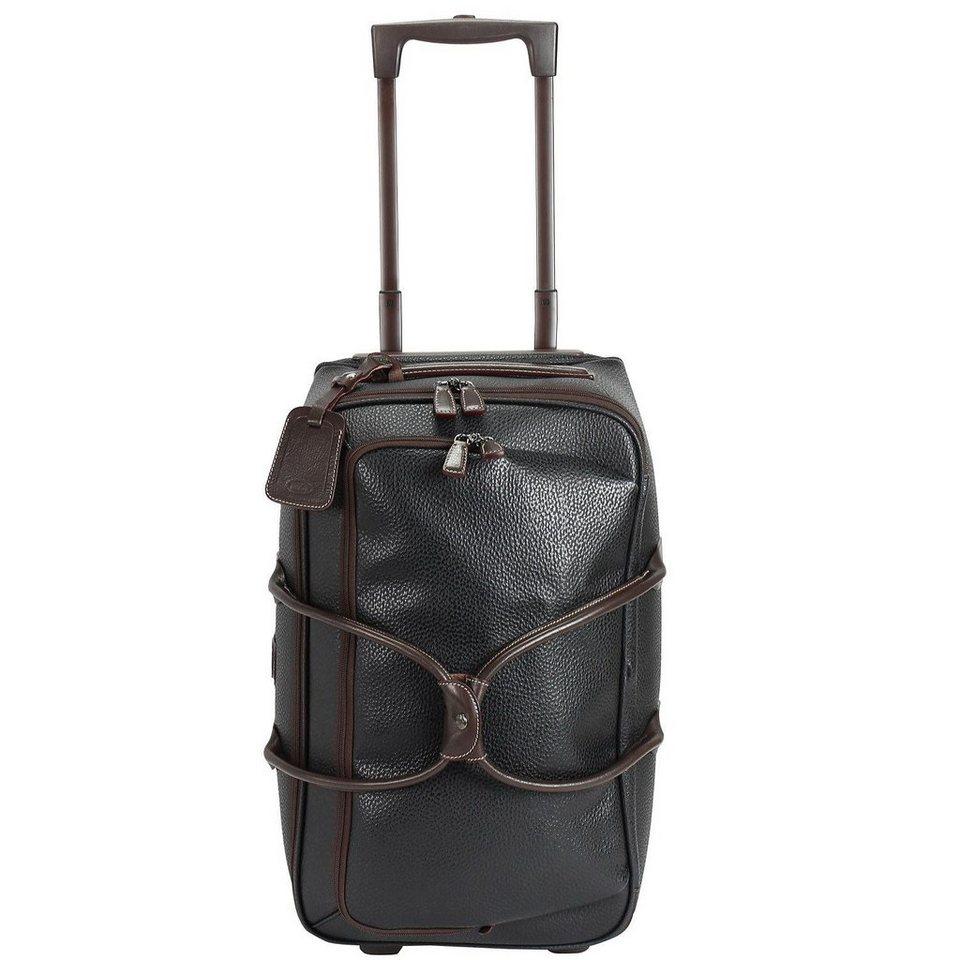 Bric's Magellano Rollenreisetasche 55 cm in schwarz