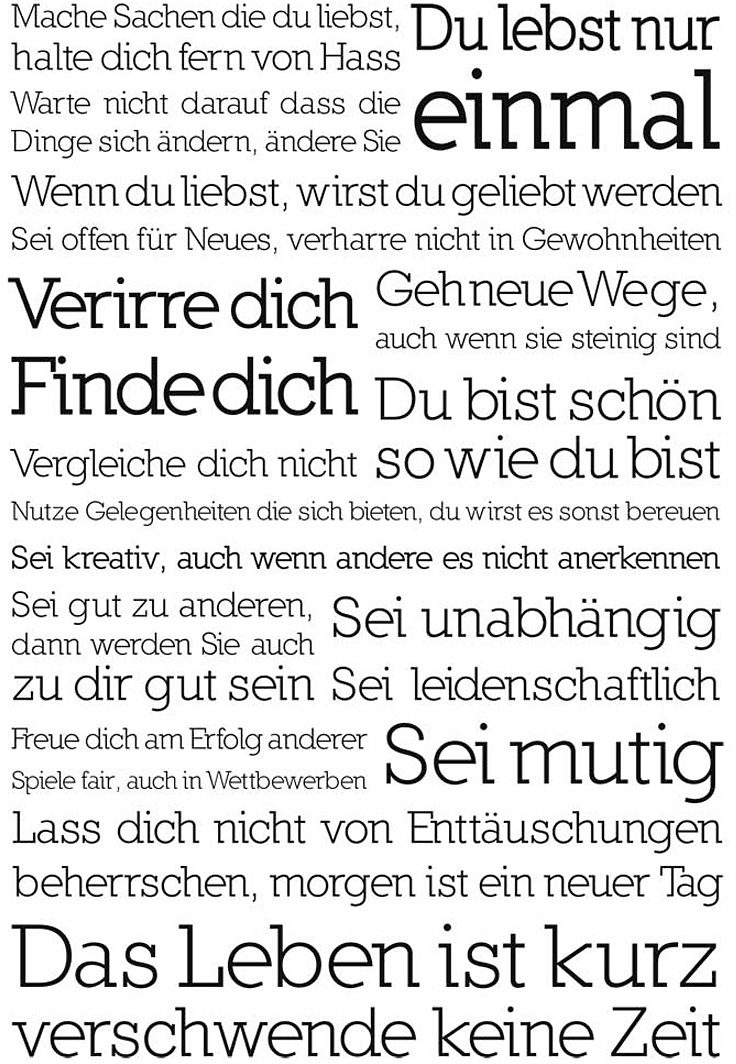 Home affaire Bild »Du lebst nur einmal«, 60/90 cm