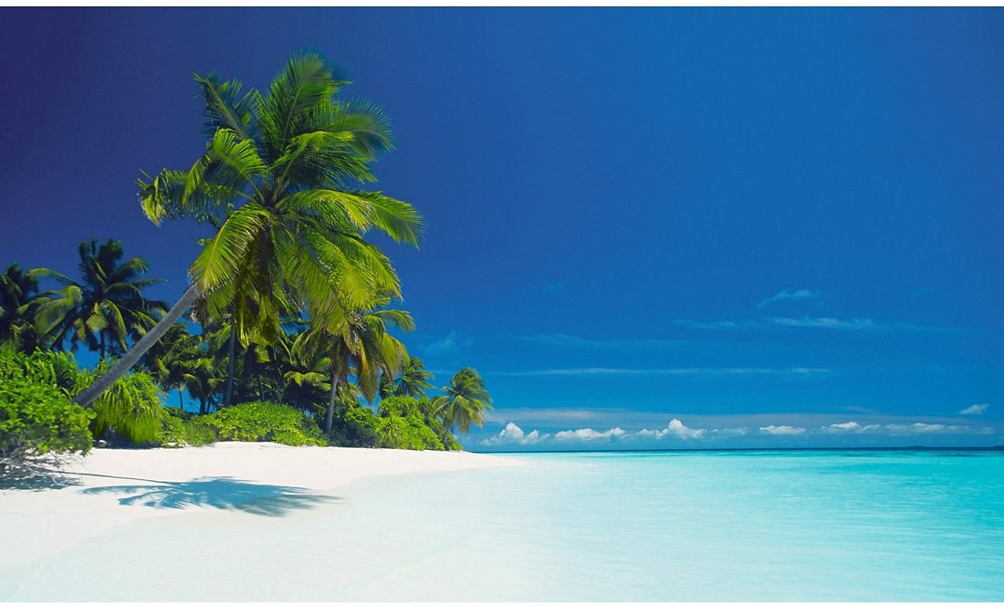 Bild, Home affaire, »Lagune der Malediven«, 118/70 cm