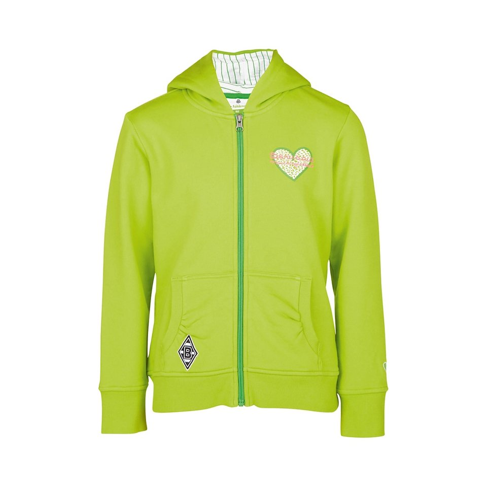 KAPPA Sweatjacke »Borussia Mönchengladbach Sweatjacke Girls« in fresh apple