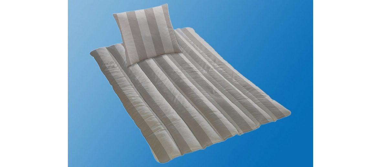 Set: Microfaserbettdecke + Kopfkissen KBT Bettwaren Anthe, Normal