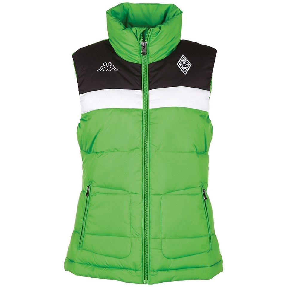 KAPPA Weste »Borussia Mönchengladbach Weste Ladies« in classic green
