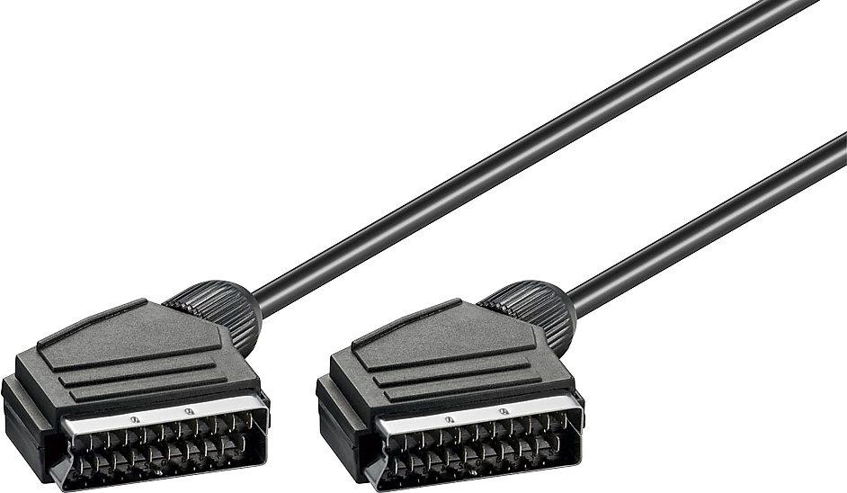 Goobay Scartkabel Scart-Kabel in schwarz