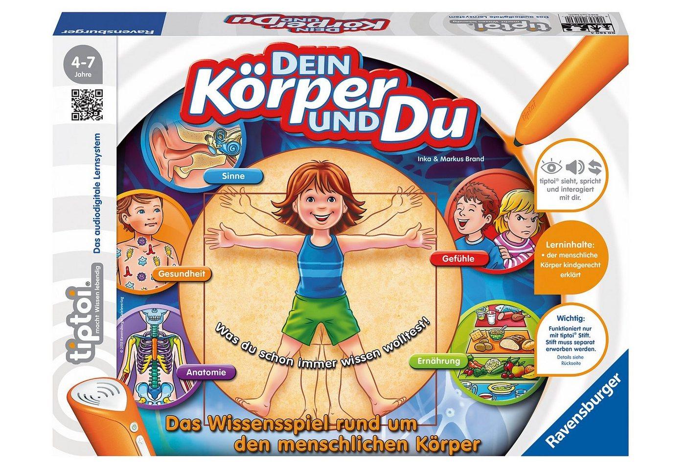 Ravensburger Lernspiel, »tiptoi®- Dein Körper und Du«