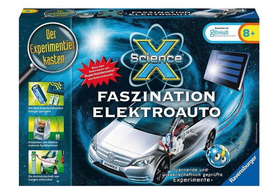 Ravensburger Experimentier-Set, »ScienceX® Faszination Elektroauto«