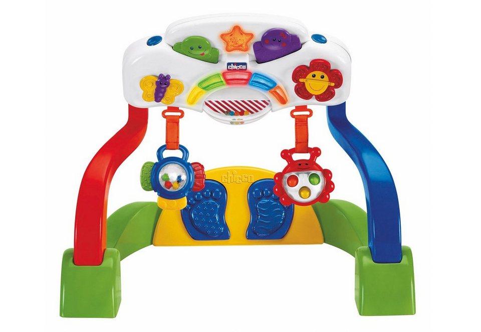 Chicco®, Set: Baby Spielzeug, »Baby Gym Duo + Vibrierende Äffchenrassel«