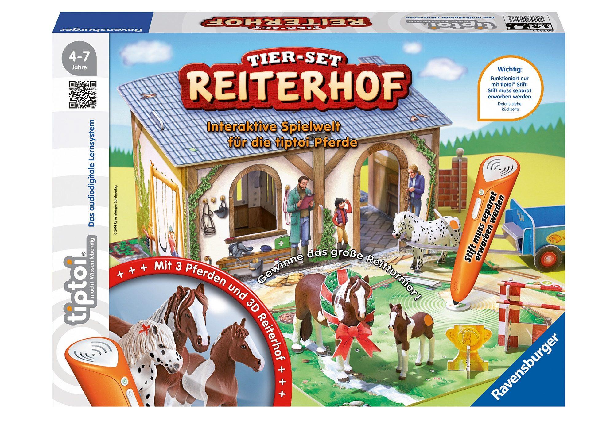 Ravensburger Tier-Set tiptoi®, »Reiterhof«