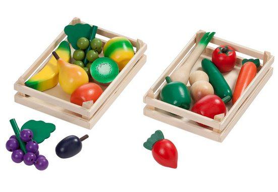Tanner Spiellebensmittel »Obst und Gemüse«, (16-tlg)