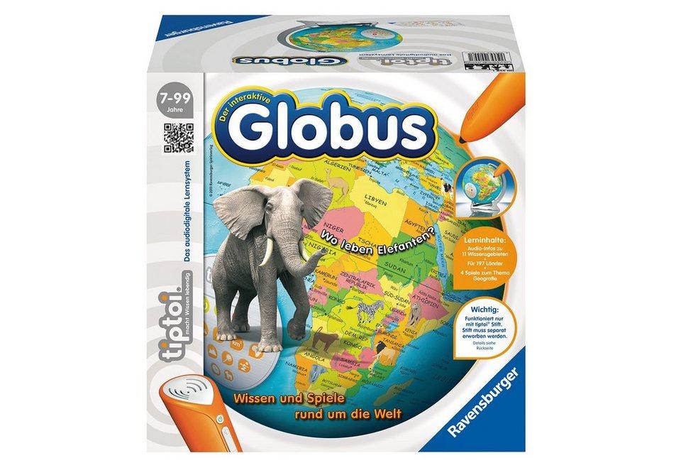 Ravensburger Lernspiel tiptoi®, »Der interaktive Globus«
