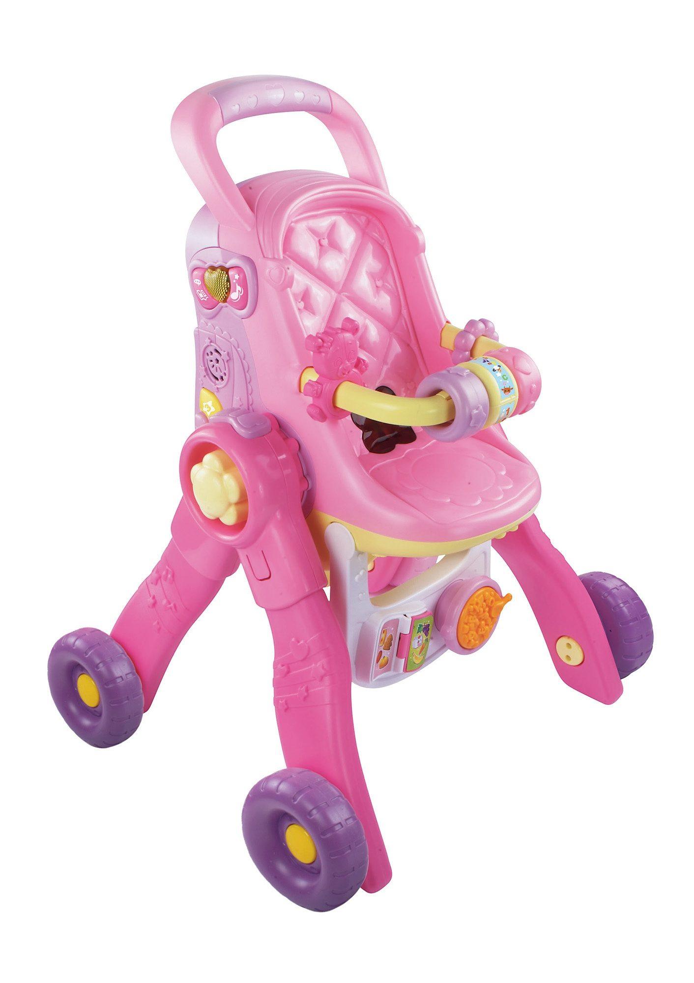 VTech Puppenwagen, »Little Love - 3-in-1 Magischer Puppenwagen«