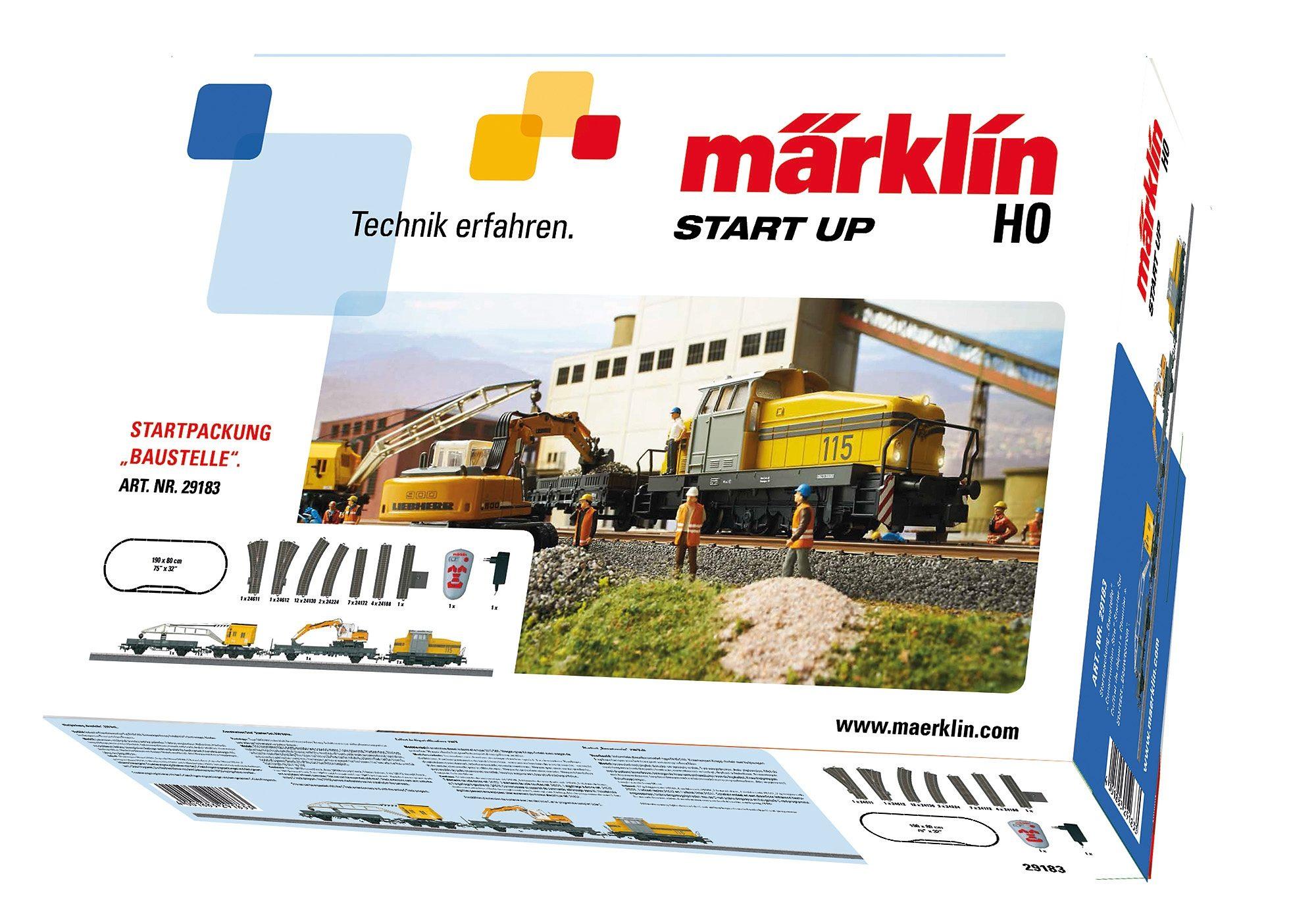 Märklin Eisenbahn-Startpackung, »Märklin Start up -Baustelle - 29183«