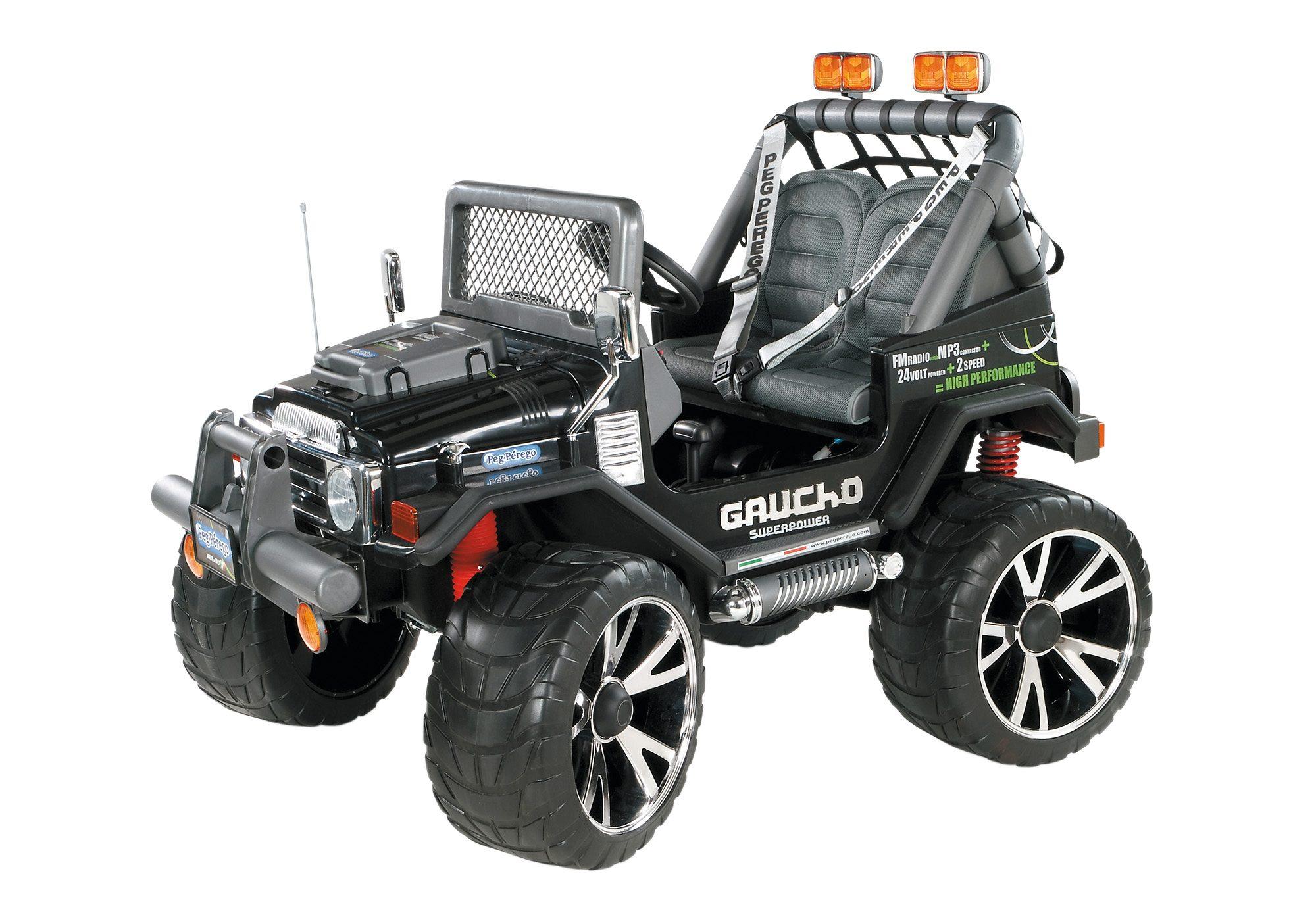 Peg-Pérego Elektrofahrzeug für Kinder Zweisitzer, »Gaucho Superpower - 24 Volt«