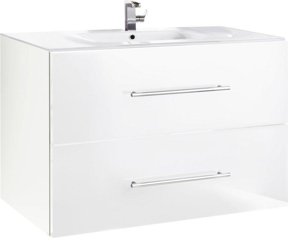 Waschtisch, Kesper, »Treviso« in weiß-weiß