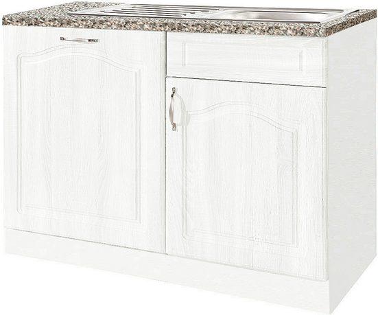 wiho Küchen Spülenschrank 110 cm breit, inkl. Tür für Geschirrspüler