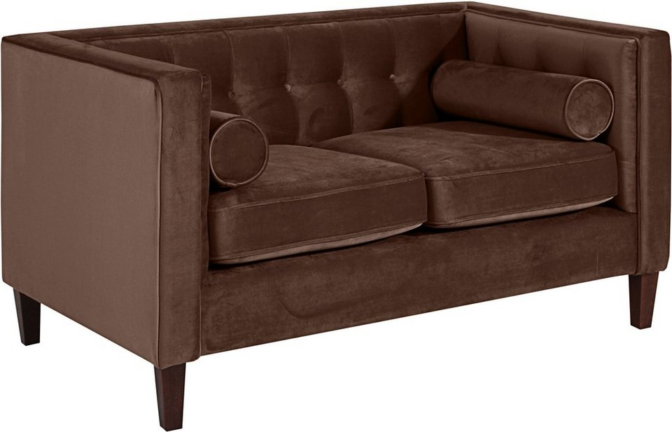 max winzer 2 sitzer cocktailsofa joko mit holzf en. Black Bedroom Furniture Sets. Home Design Ideas