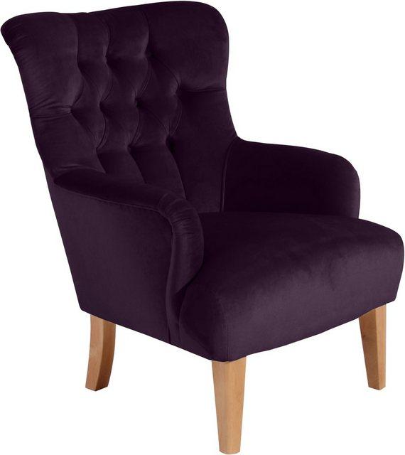 Max Winzer® Chesterfield-Sessel »Bradley«| mit edler Knopfheftung | Wohnzimmer > Sessel > Chesterfield Sessel | Max Winzer®