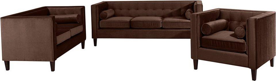 max winzer polstergarnitur joko 3 tlg kaufen otto. Black Bedroom Furniture Sets. Home Design Ideas