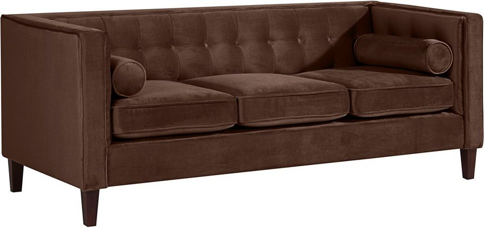 max winzer 3 sitzer cocktailsofa joko mit holzf en. Black Bedroom Furniture Sets. Home Design Ideas