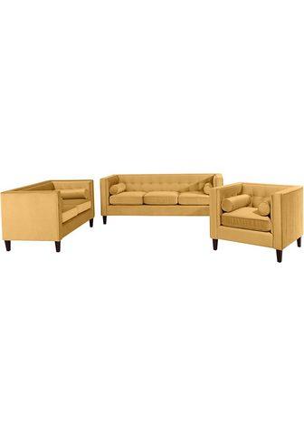 MAX WINZER ® Minkštų baldų komplektas »Joko« 3 vn...