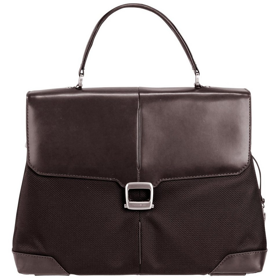 Samsonite S-Oulite Briefcase Aktentasche 40 cm Laptopfach in dark brown