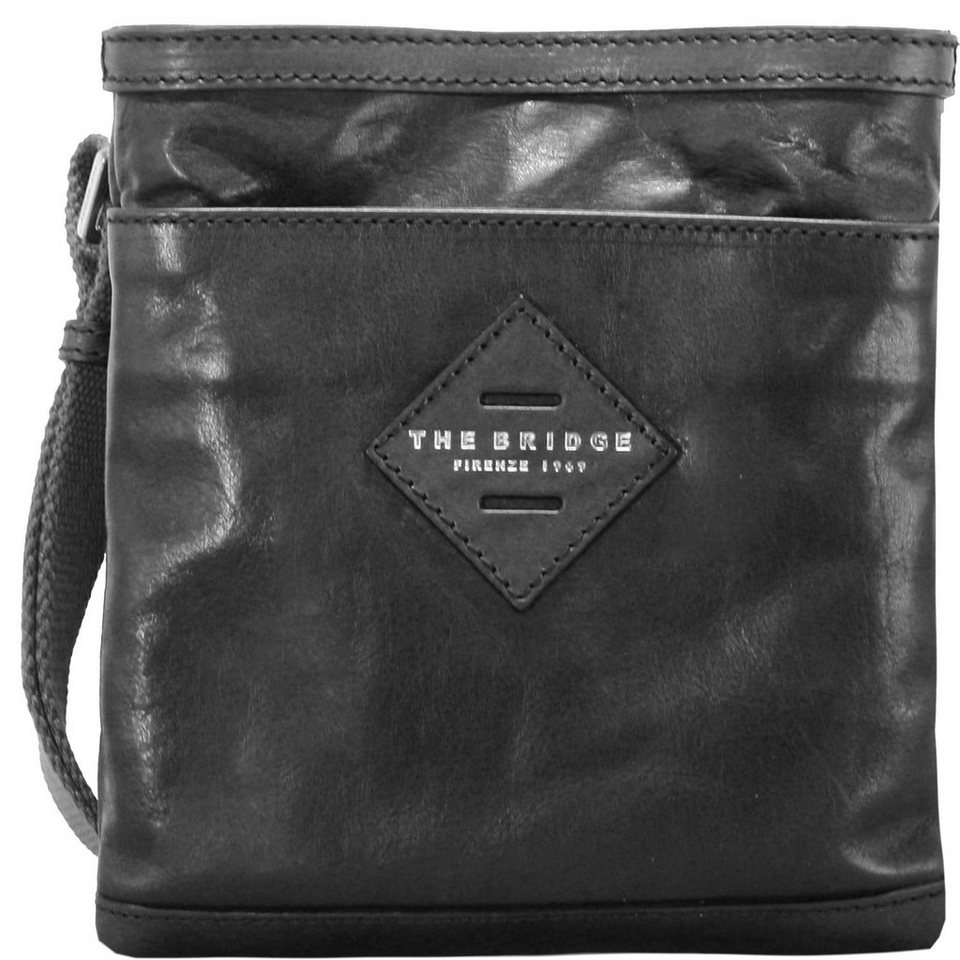 The Bridge Patch Luxe Umhängetasche 22 cm in black
